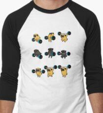 OLYMPIC LIFTING PUGS Men's Baseball ¾ T-Shirt