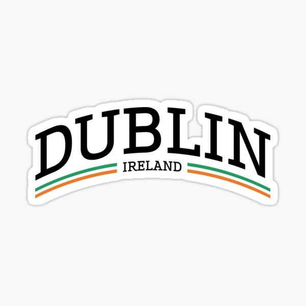 Dublin Ireland Sticker