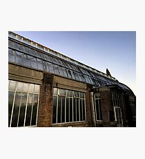 Old Glasshouse In The Gardens Photographic Print