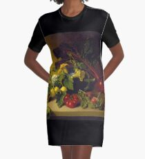James Peale, Sr. - Still Life With Vegetables Graphic T-Shirt Dress