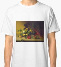 James Peale, Sr. - Still Life With Vegetables Classic T-Shirt