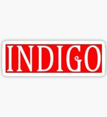 Indigo Sticker