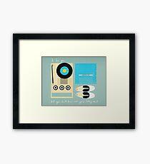 Mile 3.25 Tidal Inlet Framed Print