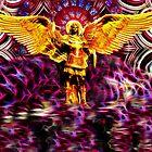 Metatron - Angel Of The Golden Light by VGdigitalart