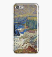 James Edward Hervey Macdonald - Falls, Montreal River iPhone Case/Skin