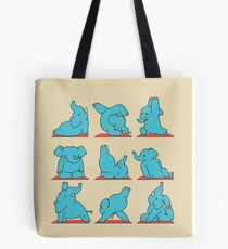 Elephant Yoga Tote Bag