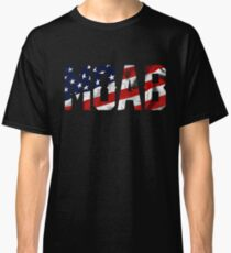 MOAB - Mother of all bombs USA flag Classic T-Shirt