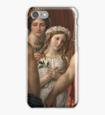 Jacques - Louis David - The Anger Of Achilles iPhone Case/Skin