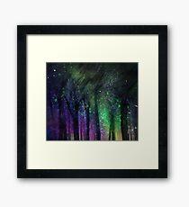 Dazzling lights IX Framed Print