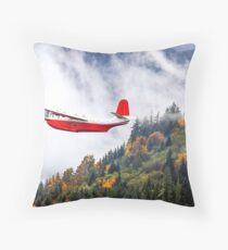 autumn Mars - photo by Robert Skelly Throw Pillow