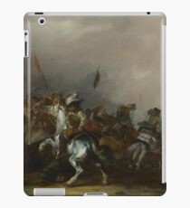 Jacob Weier - Cavalry Attacked By Infantry iPad Case/Skin