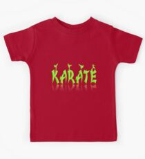Karate - Female Kids Tee