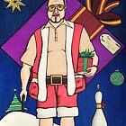 Lebowski Christmas by Adam Campbell