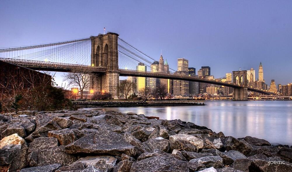 Brooklyn bridge NYC re-work by joemc