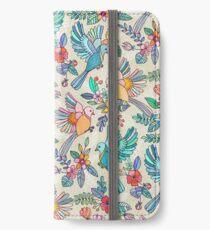 Wunderlicher Sommerflug iPhone Flip-Case/Hülle/Klebefolie