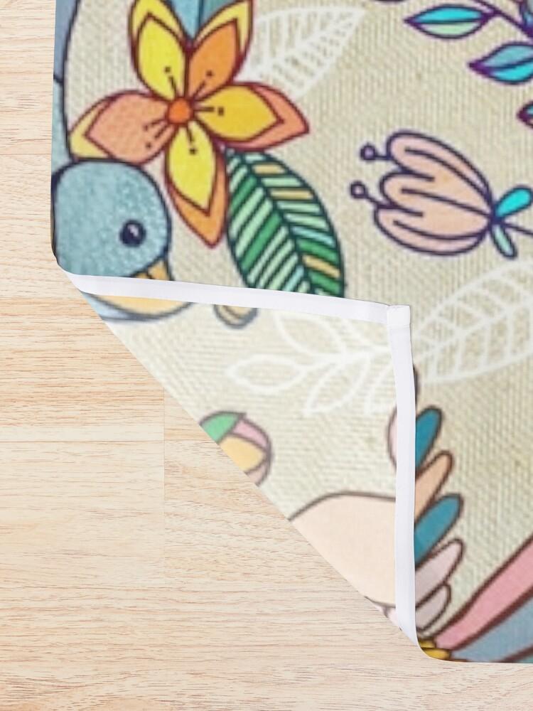 Alternate view of Whimsical Summer Flight Shower Curtain