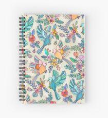 Cuaderno de espiral Caprichoso vuelo de verano