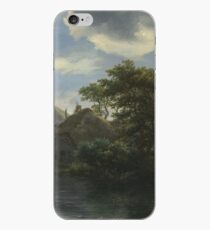 Jacob Van Ruisdael - A Cottage And A Hayrick By A River iPhone Case