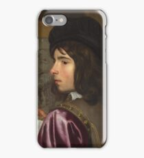 Jacob Van Oost The Elder - Two Boys Before An Easel iPhone Case/Skin