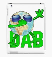 Earth Day April March funny Earth Dabbing iPad Case/Skin