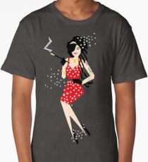 Cartoon Amy Long T-Shirt