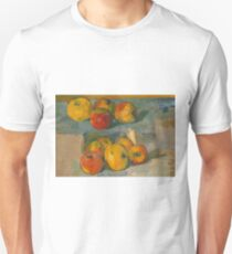 Apples by Paul Cezanne Unisex T-Shirt