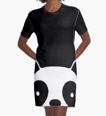 Netter Panda T-Shirt Kleid
