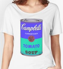 Campbell's Soup Can - Andy Warhol Print Women's Relaxed Fit T-Shirt