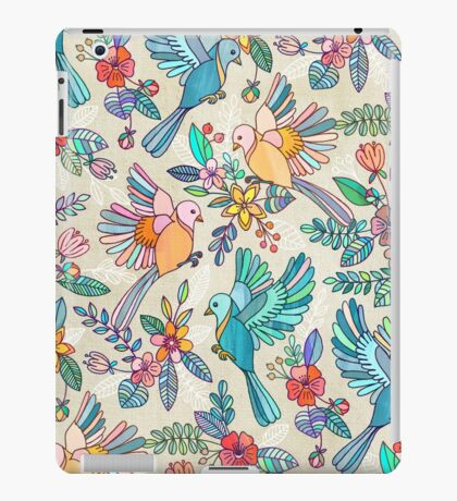 Whimsical Summer Flight iPad Case/Skin