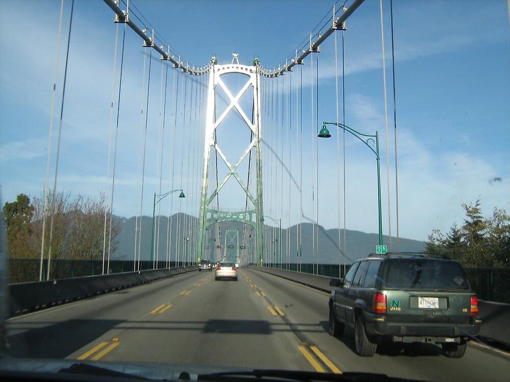 Bridge in Vancouver by Sarah Niemi