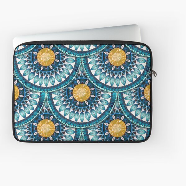 Blue Time Laptop Sleeve