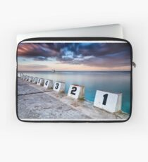 Merewether Ocean Baths - The Starting Blocks  Laptop Sleeve