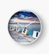 Merewether Ocean Baths - The Starting Blocks  Clock