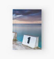 Merewether Ocean Baths - The Starting Blocks  Hardcover Journal
