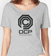 Robocop - OCP Omni Consumer Products Women's Relaxed Fit T-Shirt