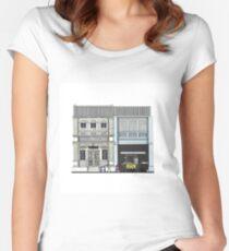 Penang Street Scene II Women's Fitted Scoop T-Shirt