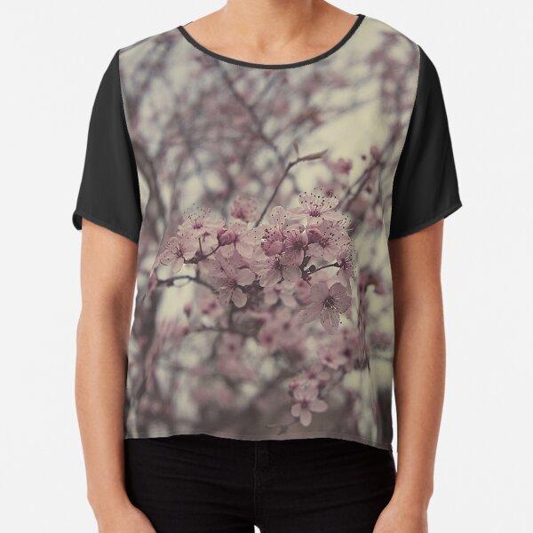 Pink blossom Chiffon Top