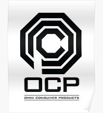 Robocop - OCP Omni Consumer Products Poster