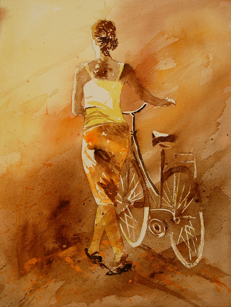 WATERCOLOR 060108 by calimero