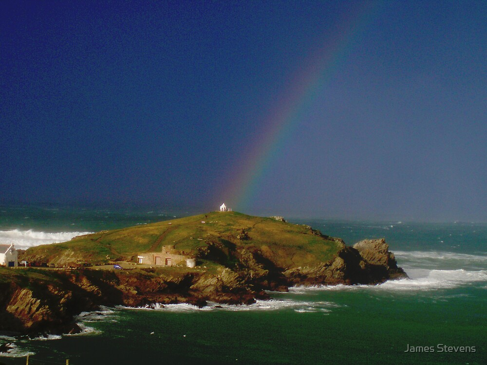 House at the end of the Rainbow by James Stevens