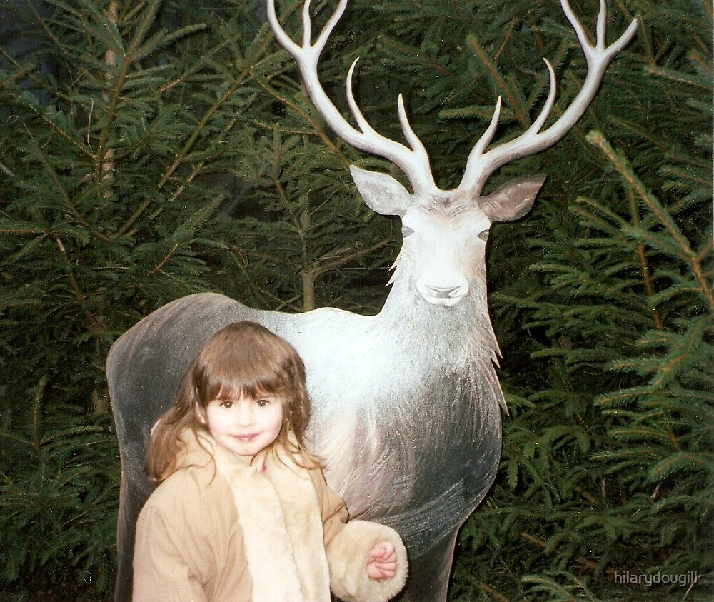 Amber and the Deer by hilarydougill