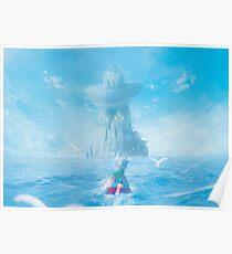 Frische Luft am Meer Poster
