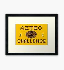 Gaming [C64] - Aztec Challenge Framed Print