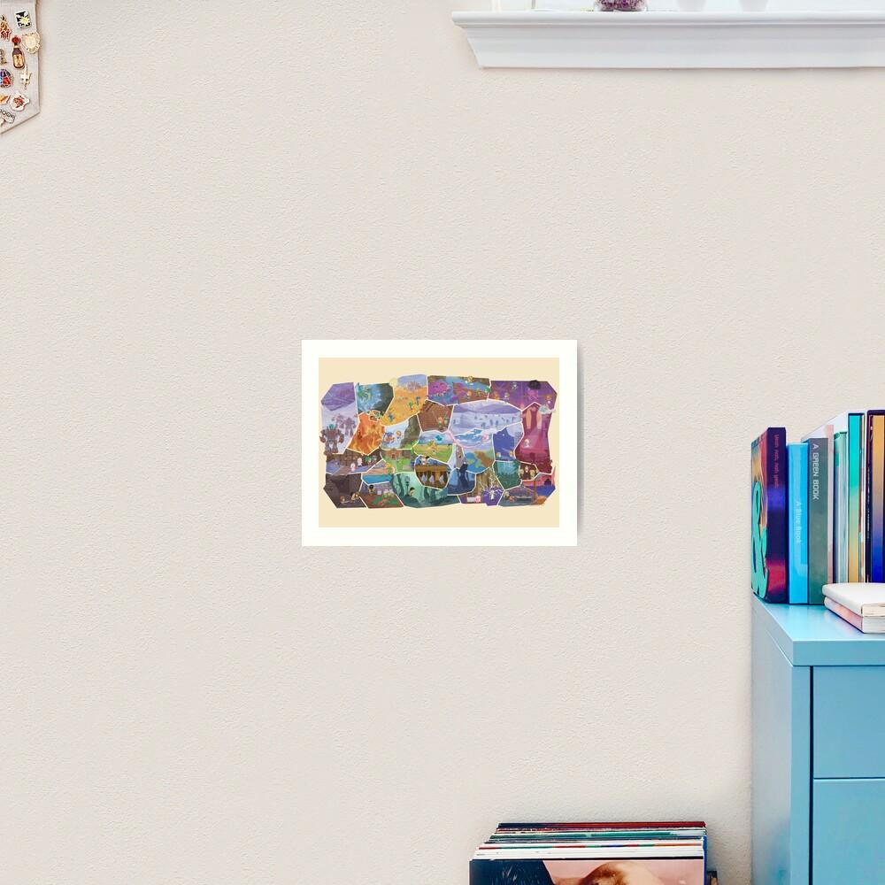 FFVI Fresco Part1  Art Print