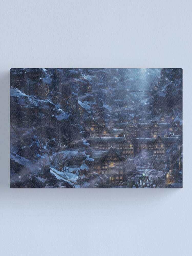 Alternate view of Narshe  Canvas Print