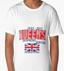 Queen's Sapphire Jubilee Long T-Shirt