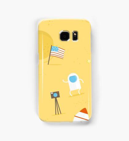 Moon Mission Samsung Galaxy Case/Skin