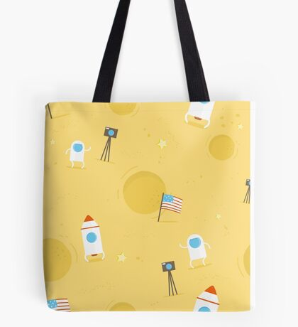 Moon Mission Tote Bag