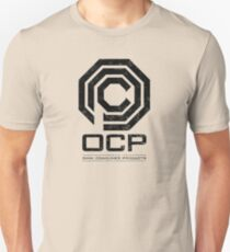 Robocop - OCP Omni Consumer Products Distressed Variant Unisex T-Shirt