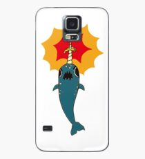Pizza Narwhal Case/Skin for Samsung Galaxy
